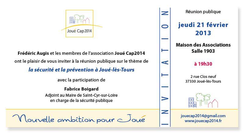 Invitation Joué Cap2014 jeudi 21 février
